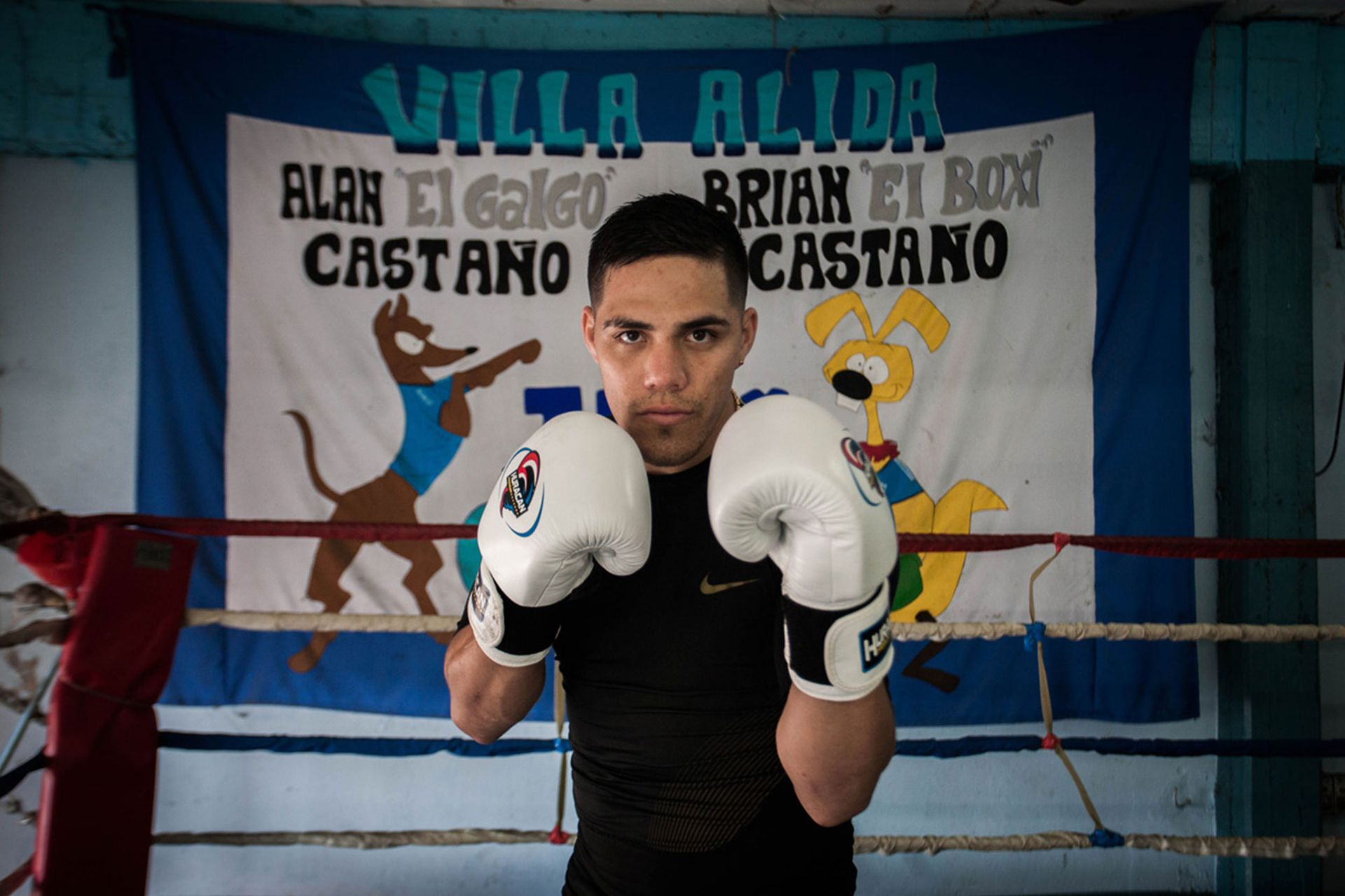 """""""Castaño es un boxeador que respeta lo ortodoxo, lo histórico, que es pegar sin dejarse pegar"""", lo define el periodista especializado en boxeo Carlos Irusta."""