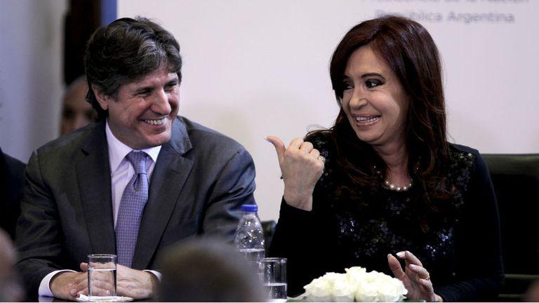 Primero Amado Boudou y después Cristina Kirchner