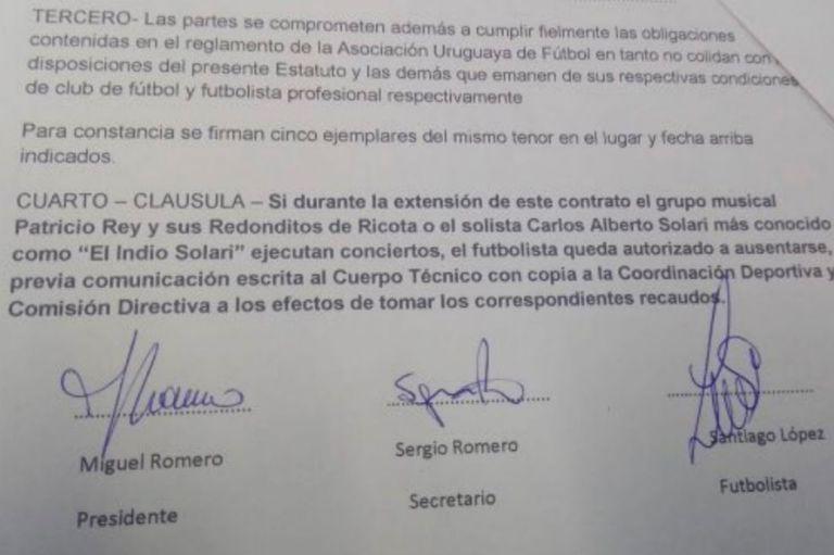 La curiosa cláusula en el contrato del futbolista