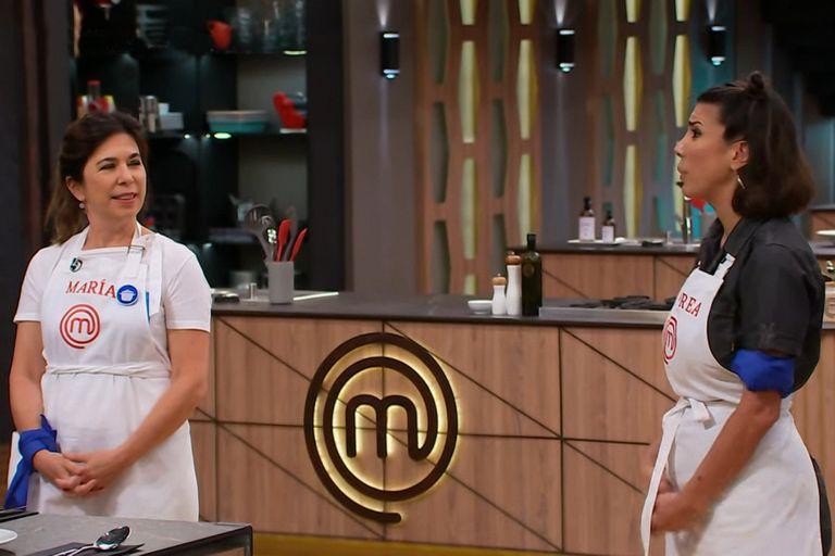 MasterChef Celebrity: tensión y bronca entre Andrea Rincón y María O'Donnell