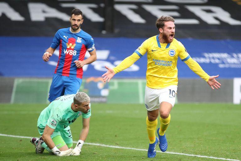 Premier League: el primer gol de Alexis Mac Allister en Brghton