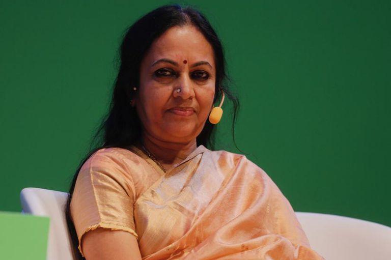 Bhanumathi Narasimhan, directora del programa de mujeres de El Arte de Vivir
