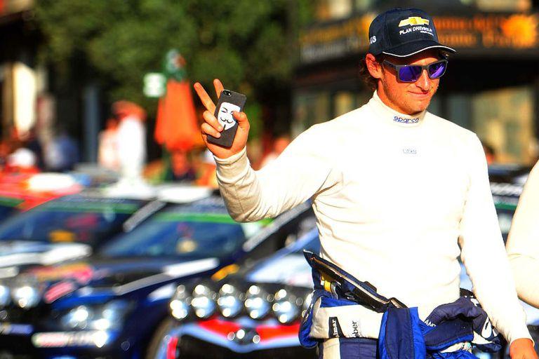 David Nalbandian en el Rally de Argentina