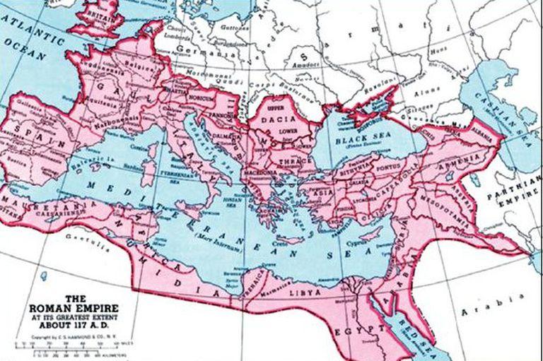 La peste Antonina alcanzó toda la extensión del imperio, e incluso fue más allá