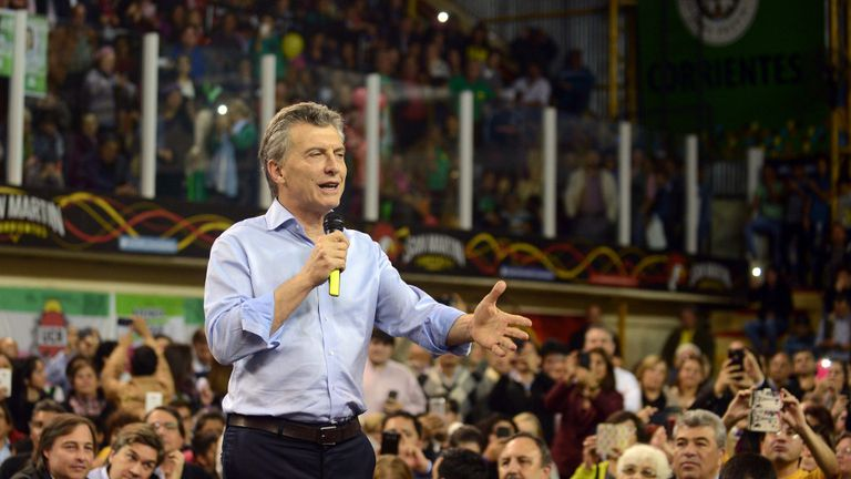 Macri confirmó que su propósito político para después de las elecciones es debatir con la oposición en el Congreso las reformas laboral y jubilatoria