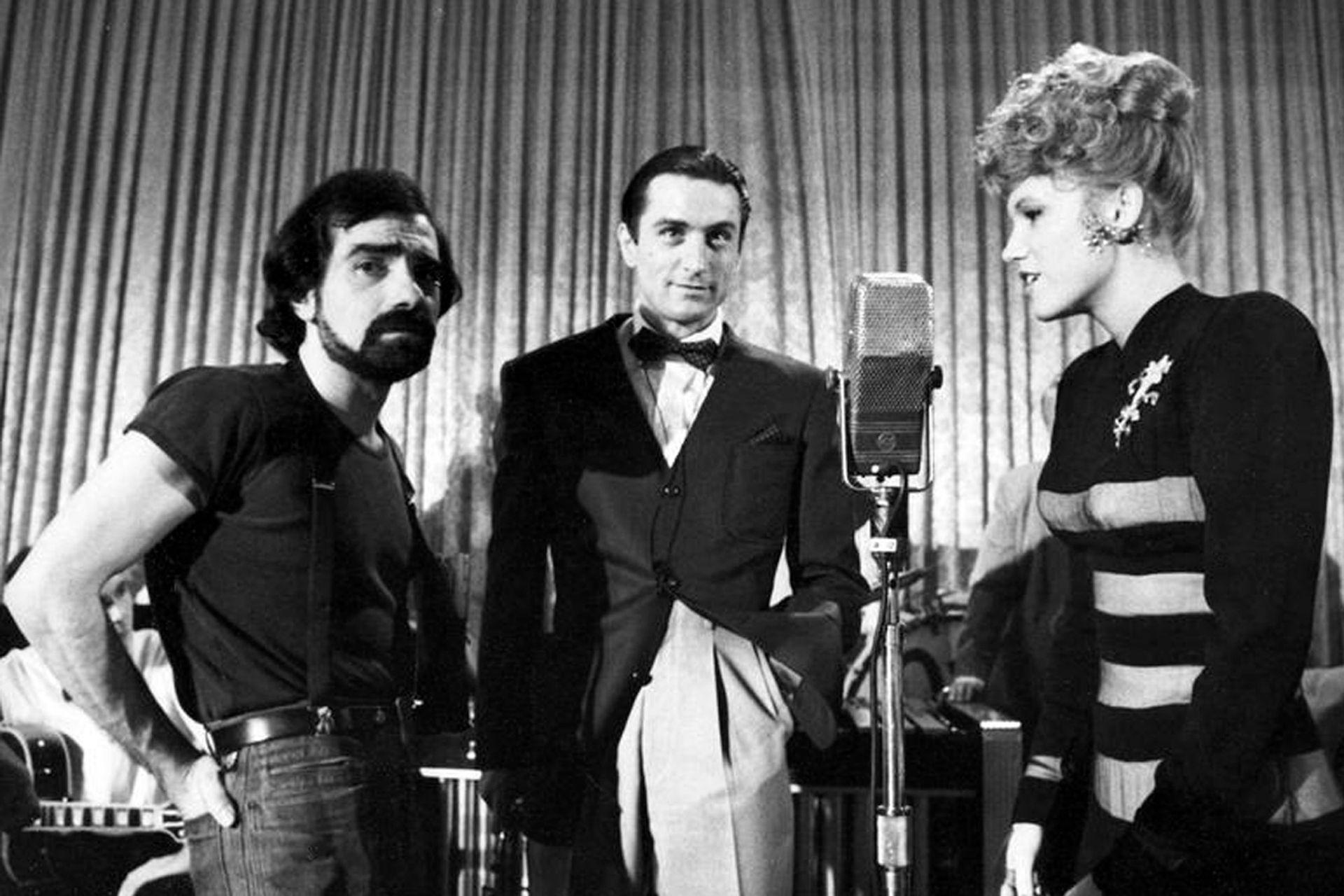 Scorsese (izquierda) atravesó uno de los momentos personales más complicados durante el rodaje de New York, New York