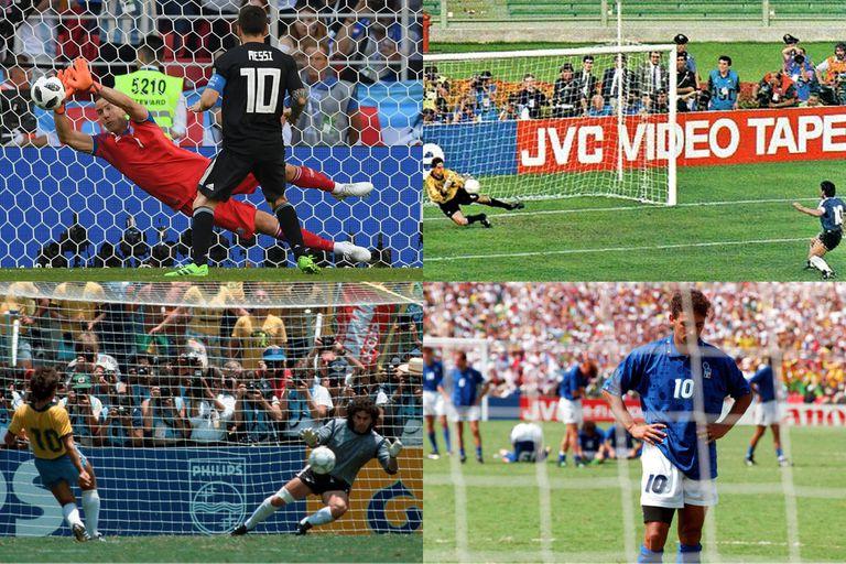 Maradona, Zico, Platini: Messi, otro grande que malogra un penal en un Mundial