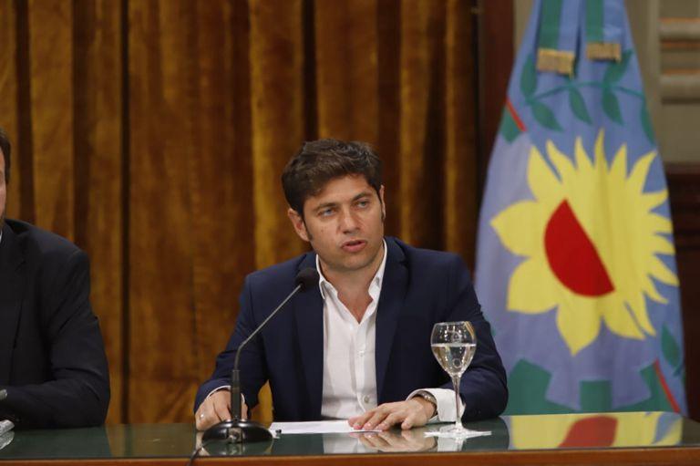 El gobernador bonaerense pidió posponer el pago de la deuda
