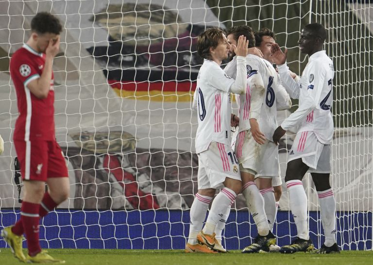 Infalible. Real Madrid eliminó a Liverpool y se ilusiona con otra Champions