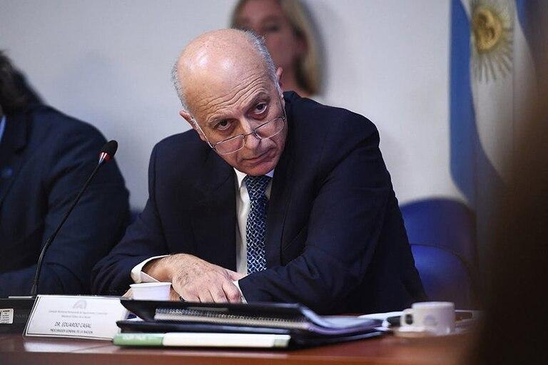 El procurador interino Eduardo Casal