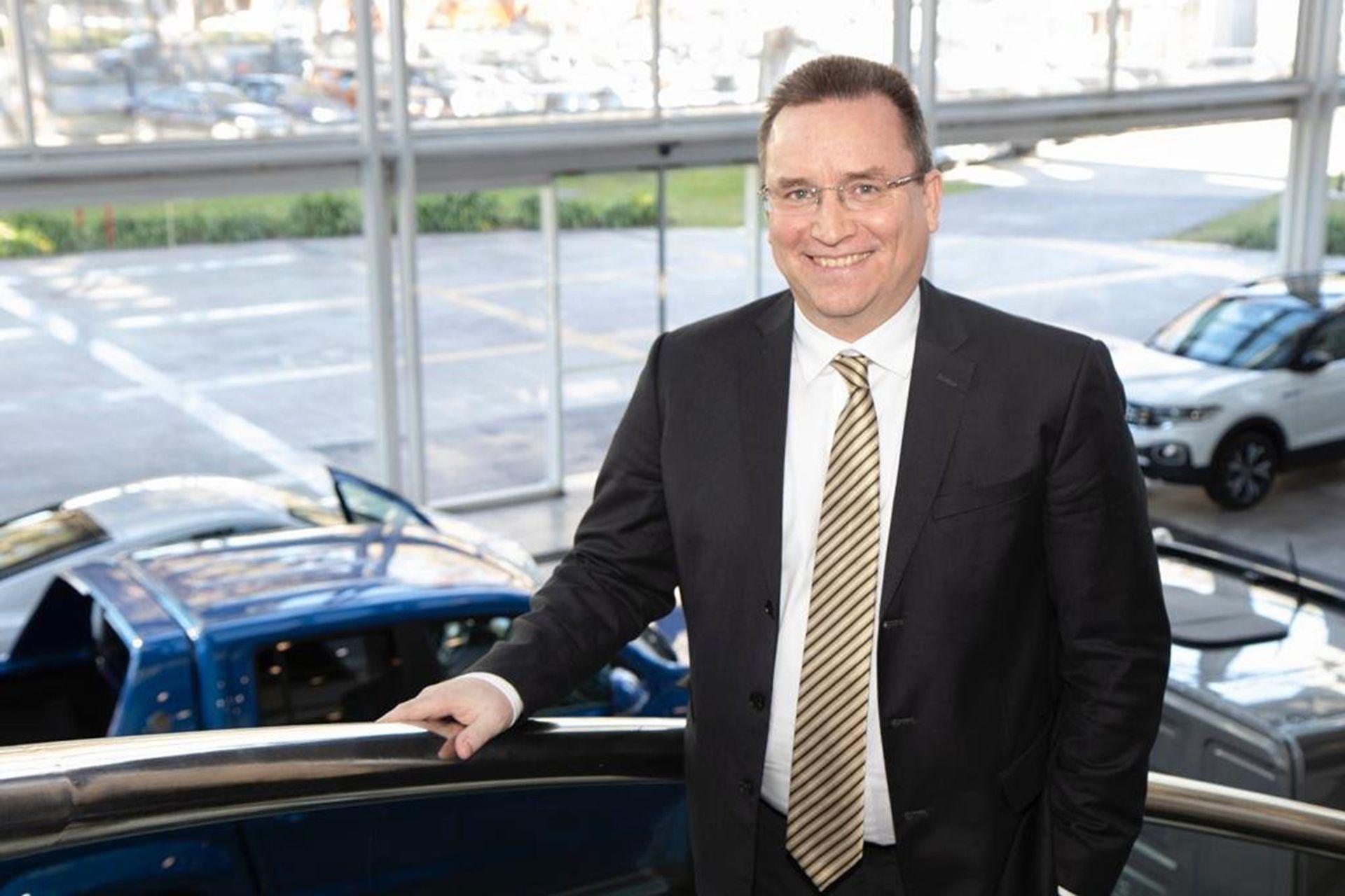 Thomas Owsianski, CEO y presidente de Volkswagen Group Argentina