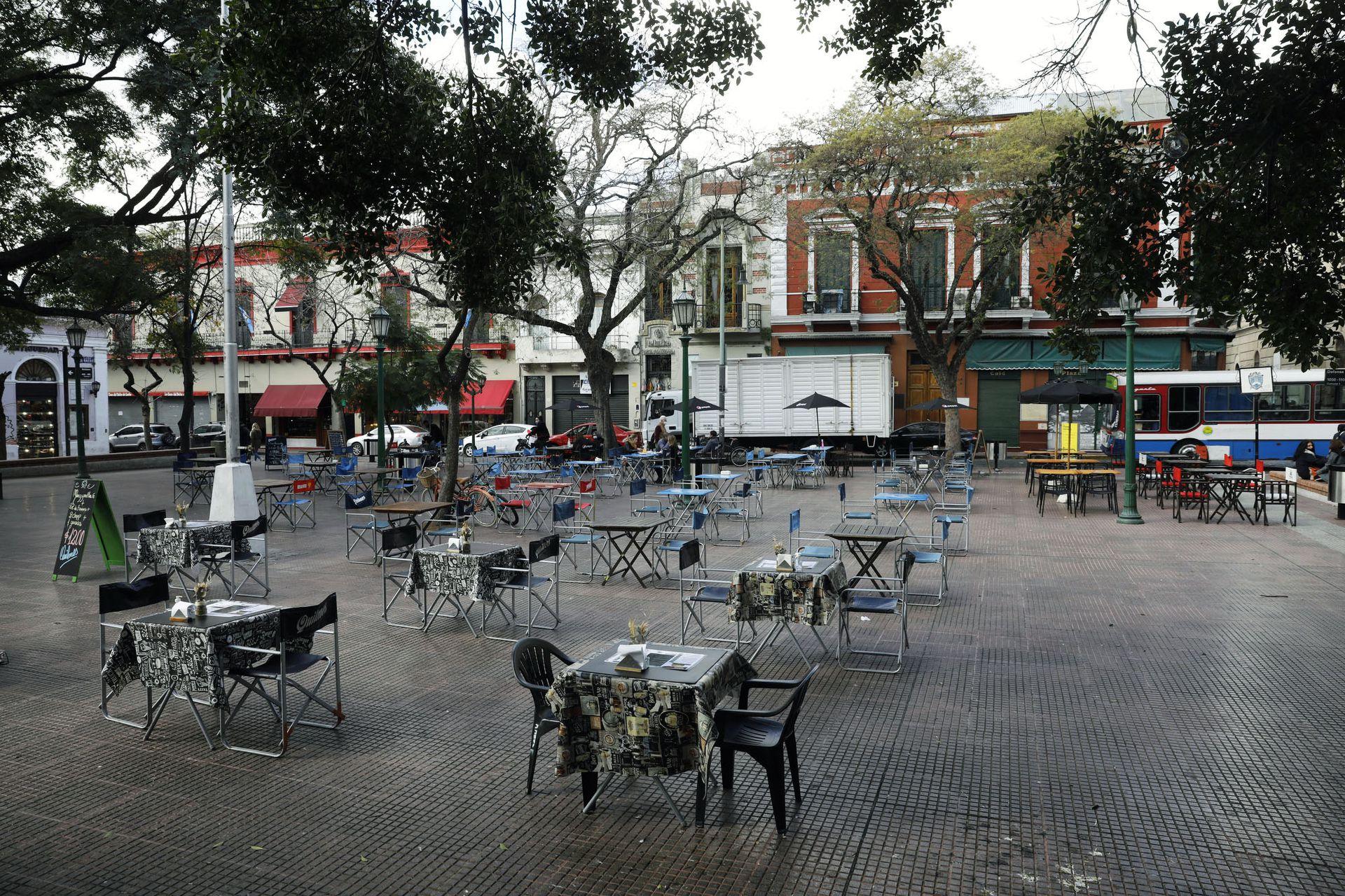 La Plaza Dorrego