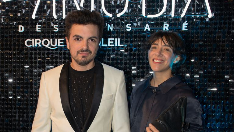 Ale Sergi y Juliana Gattas, de Miranda!