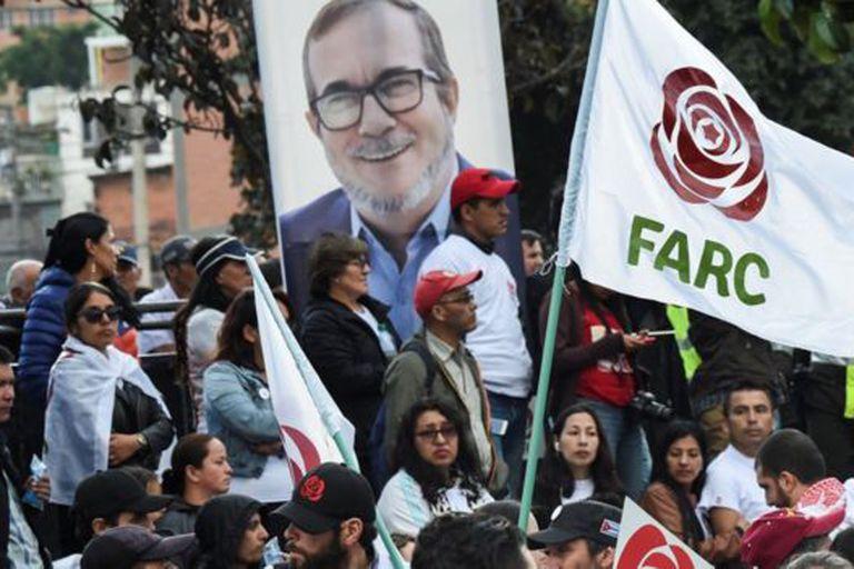 El partido político FARC intentó sin éxito tener candidatura propia en las elecciones presidenciales.