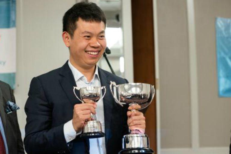 Wang Hao, ganador del torneo de la Isla de Man