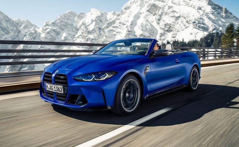 Cambio notable. El rediseño de este BMW M4 Competition Cabriolet lo muestra más extremo que  la versión anterior