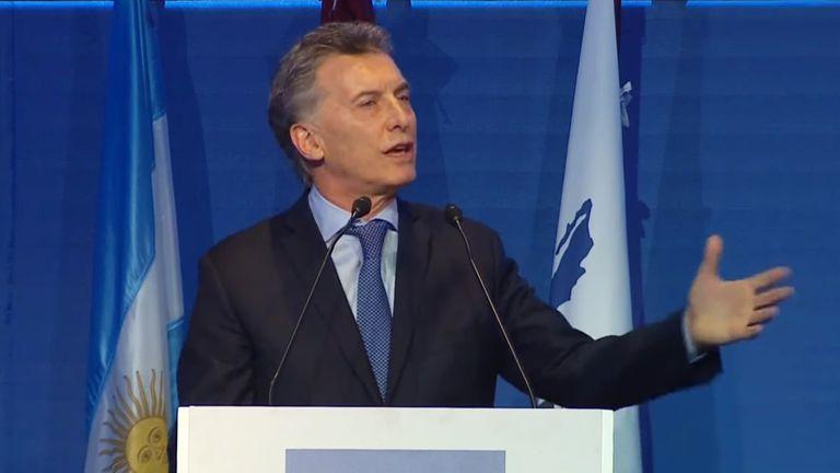 Mauricio Macri en el cierre de la 65° Convención de la Cámara Argentina de la Construcción