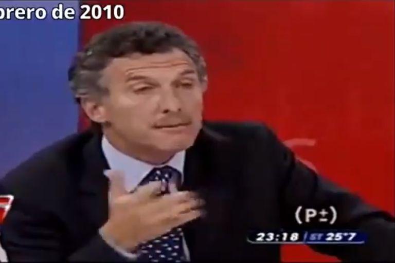 Chano internado: qué opinaba Macri sobre el uso de las taser en 2010