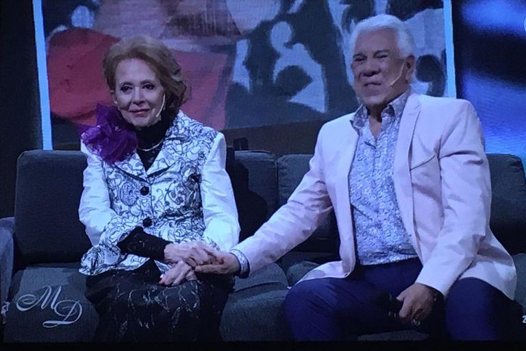 En el estreno del programa Memorias Desordenadas, Pinky y Raúl Lavié recordaron viejos momentos compartidos