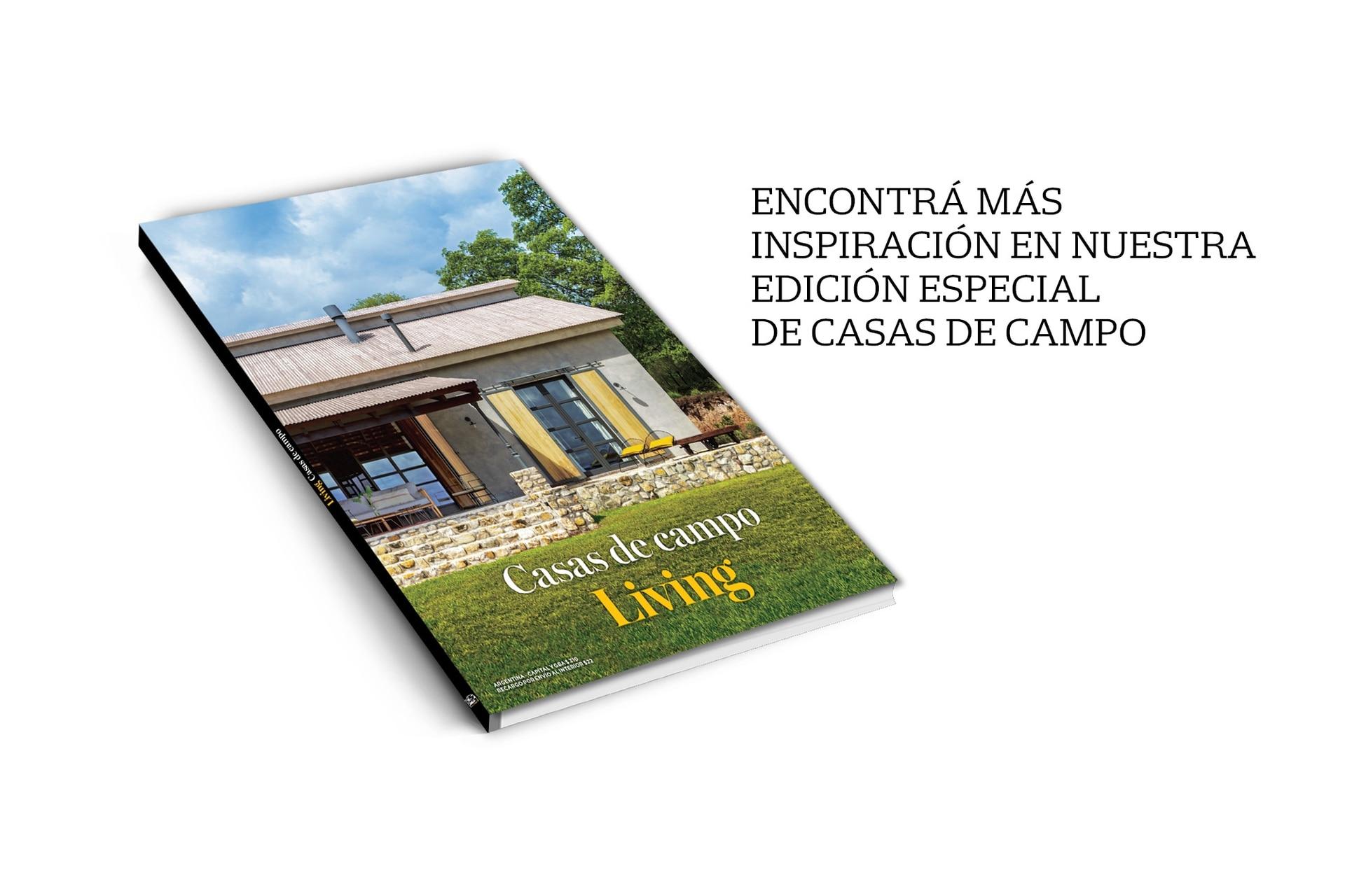 Recibila suscribiéndote a Living en miclub.lanacion.com.ar o llamando al 5199-4700.