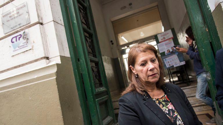 Subdirectora Alicia Oliva, Instituto Politécnico de Rosario