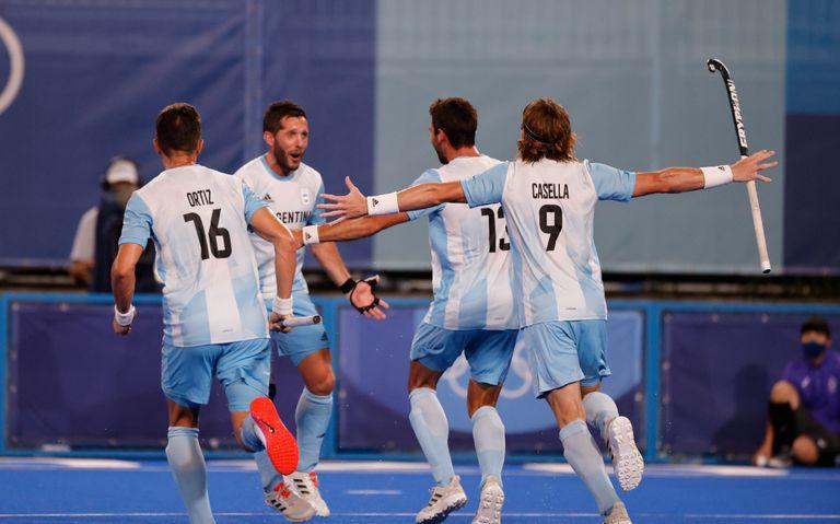 Los Leones golearon 4-1 a Nueva Zelanda y están en cuartos de final