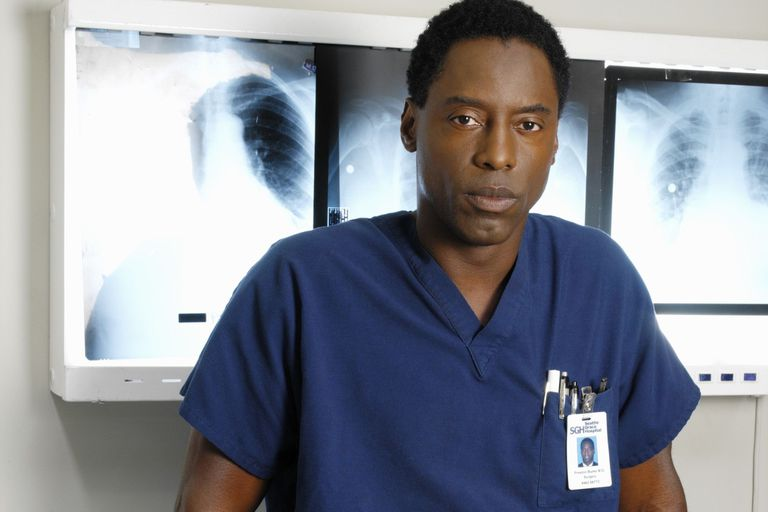 El Dr. Preston Burke, interpretado por Isaiah Washington