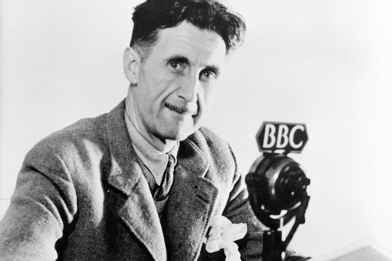 La vida intrépida de George Orwell