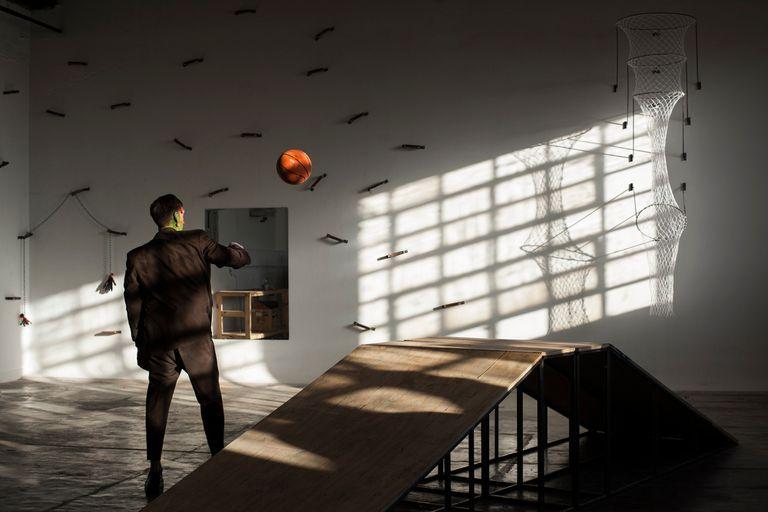 El Frankenstein de Jair Jesús Toledo comparte una jaula con dos ratas y es feliz; la vida le da revancha