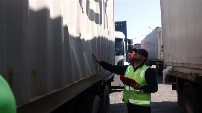 La inspección de contenedores, un servicio del sistema