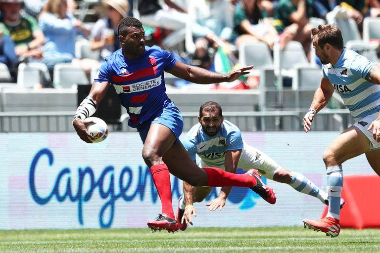 Rugby seven: Los Pumas perdieron con Francia y se despidieron en 4tos. de final