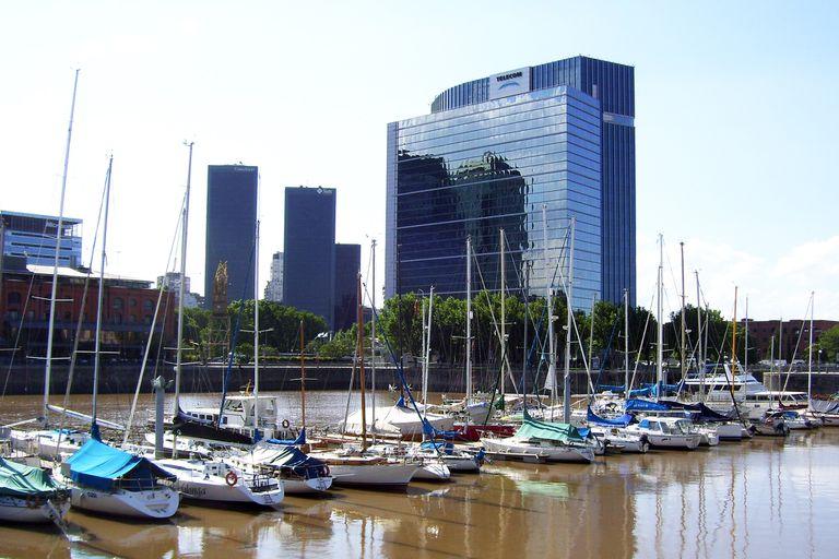 Edificio de la empresa Telecom Argentina en Puerto Madero