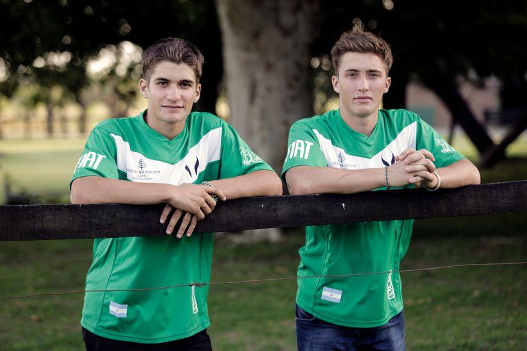Los hermanos Camilo y Barto Castagnola encararán el circuito como campeones defensores del Abierto Británico.