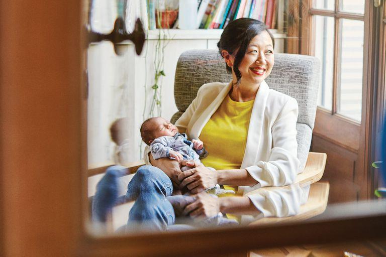 La historia de Karina Gao: transitó con angustia el Covid en su embarazo y hoy lo cuenta feliz