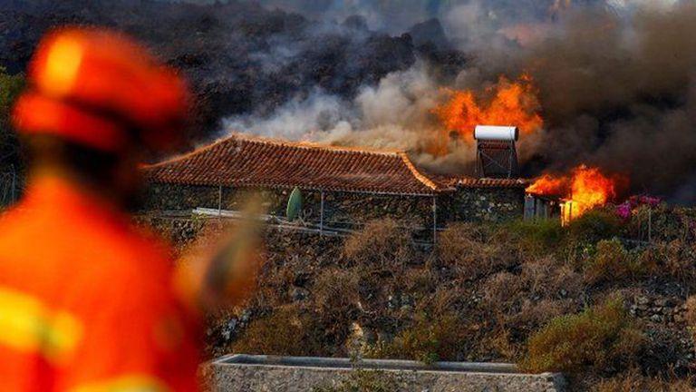 Numerosas viviendas quedaron destruidas