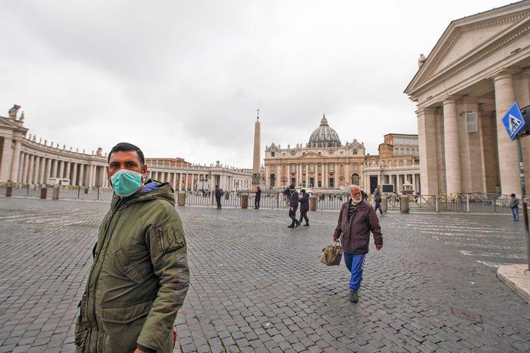 Primer caso en el Vaticano