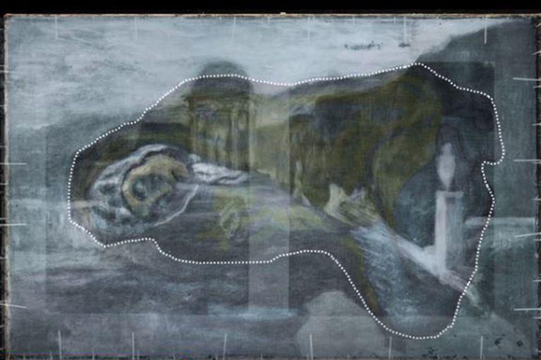 """El hallazgo fue realizado por el uso de una tecnología avanzada de rayos X fluorescentes que permite """"de forma no invasiva"""" profundizar en cada capa del lienzo"""