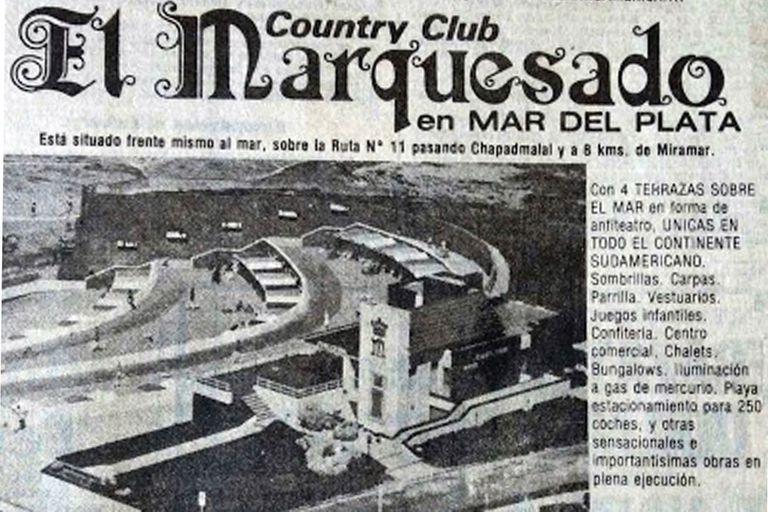 Anuncio de venta de El Marquesado en 1977