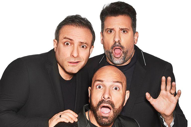 Listorti, junto a Sebastián Almada y Fredy Villarreal, se prepara para un show en streaming