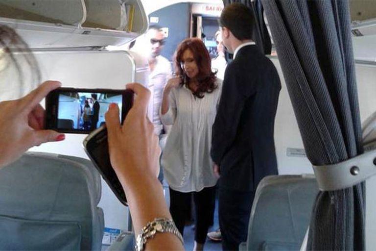 El Calafate: Cristina viajó al sur y asiste a la reactivación de sus hoteles