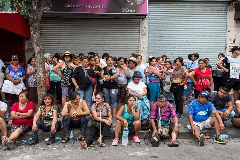 Desalojo de manteros en Liniers: se levantó la totalidad de los puestos