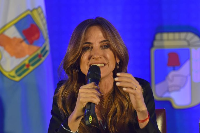La precandidata a diputada, Victoria Tolosa Paz