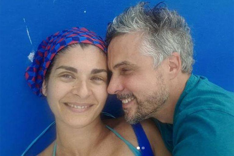 Tras 24 años, Villamil y Olivera se casaron en una íntima ceremonia