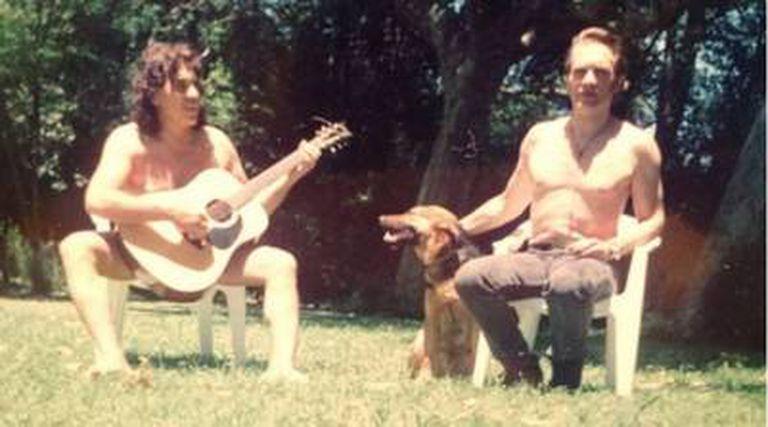 Pappo y Vitico, en el Delta