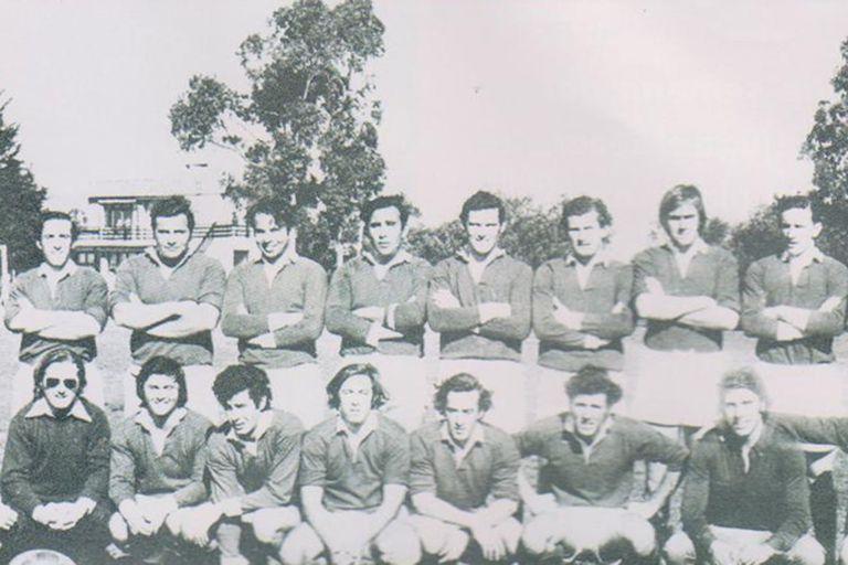 El equipo de los Old Christians en 1972, año del accidente
