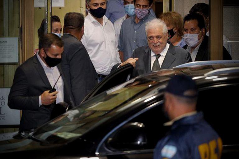 Ginés González García es el principal apuntado en la denuncia que presentó ayer el fiscal Guillermo Marijuan ante la Cámara Federal
