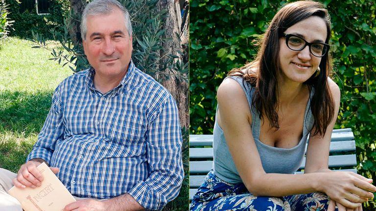 Los investigadores Juan Fuentes y Cinthia Hamlin
