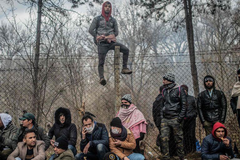 Tensión por los migrantes en el límite entre Grecia y Turquía