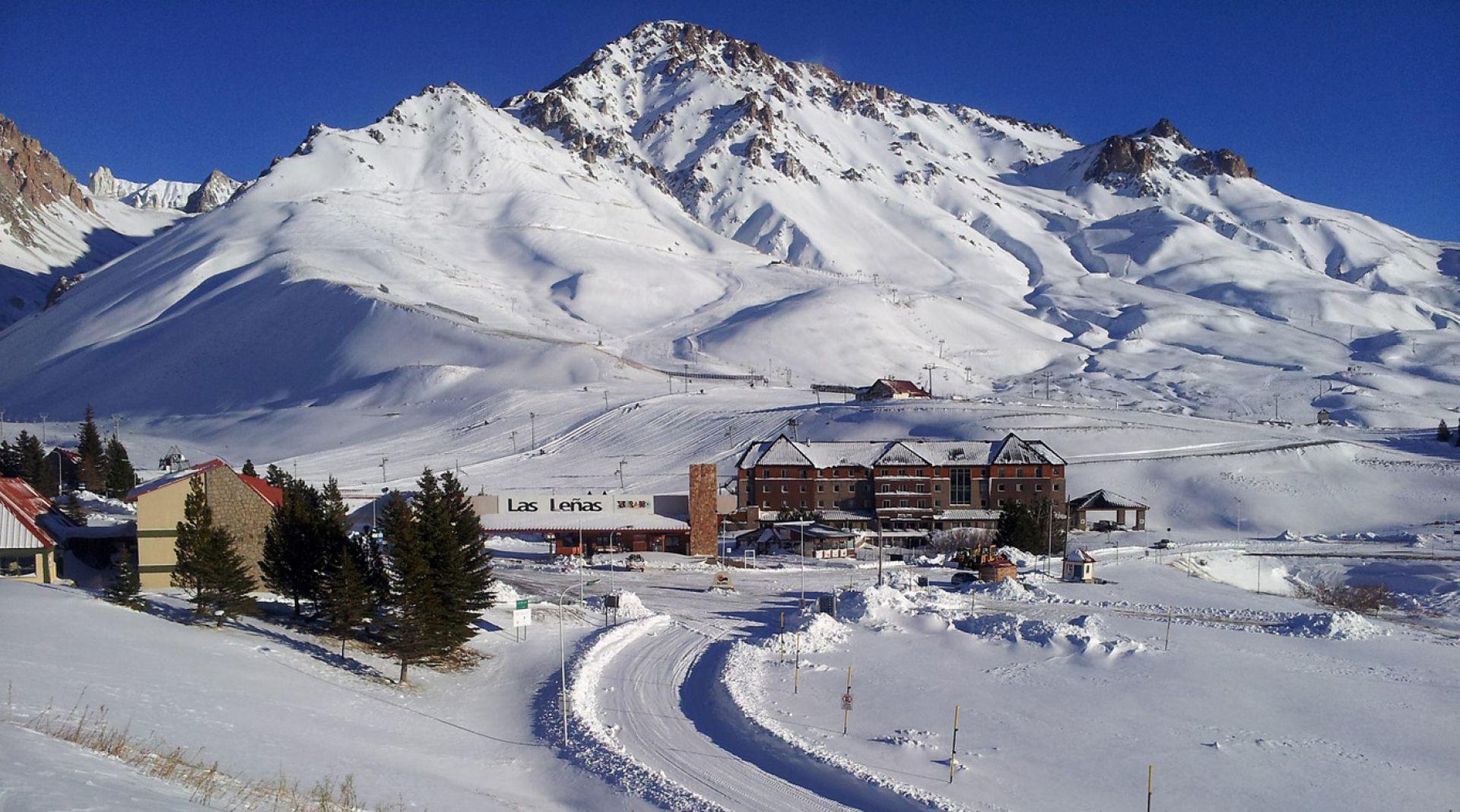 El Valle de Las Leñas operará al 50 % de la capacidad hotelera, lo que dejará las pistas más liberadas