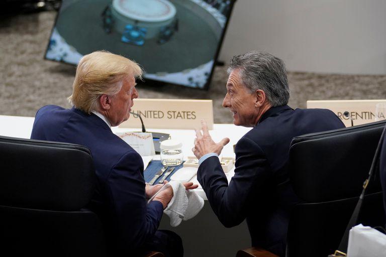 El debut de Macri en el G-20: habló con Trump y recibió apoyo para la economía
